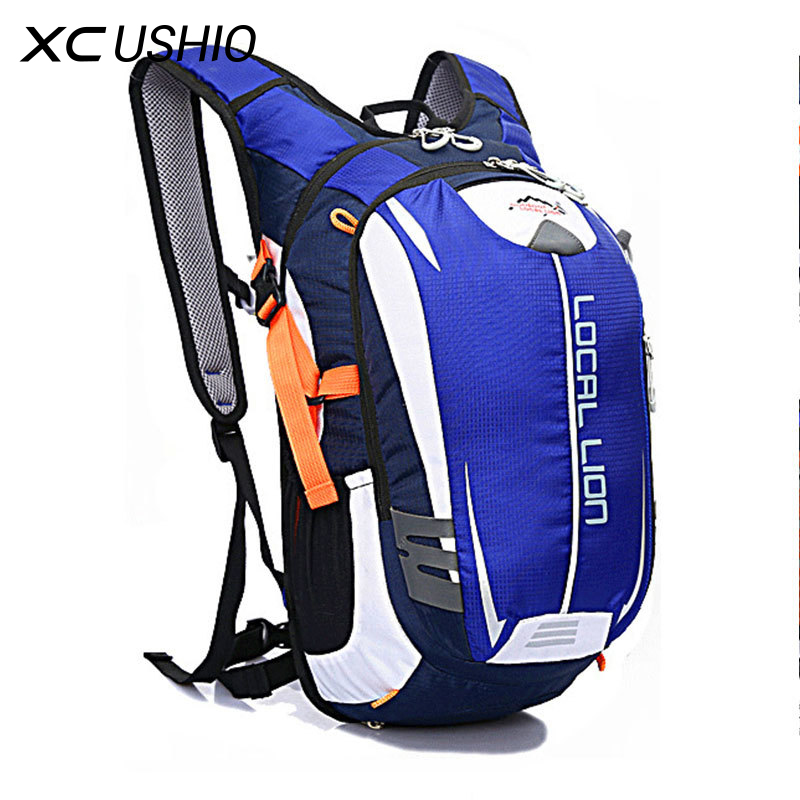 2017 Professional Cycling Sport Backpack 600D Nylon 18L Suspension Breathable Bicycle Bag Rainproof Outdoor Riding Bike Bags